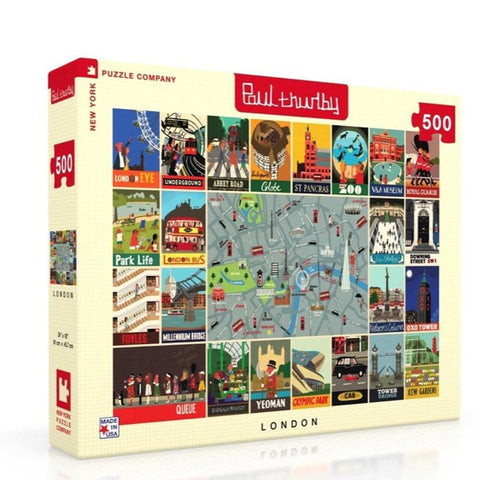 London Collage Jigsaw Puzzle