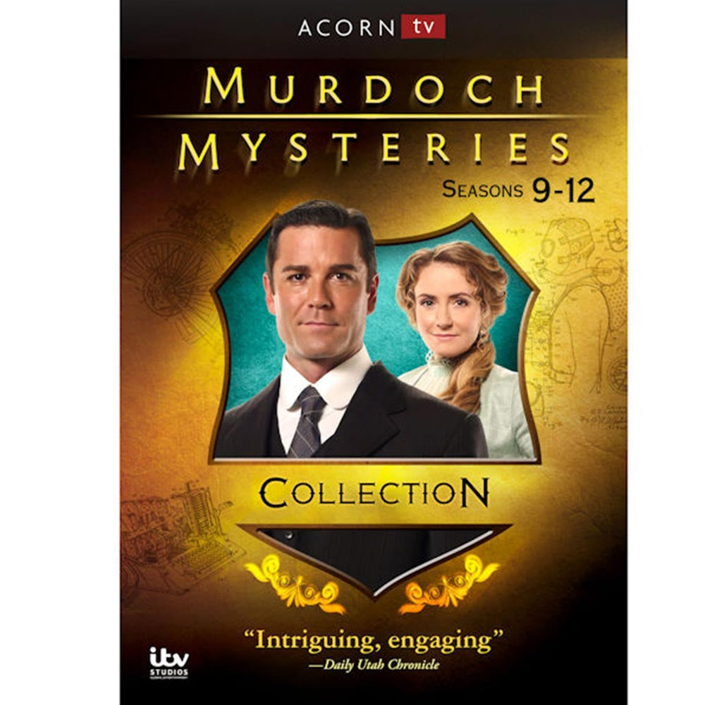 Murdoch Mysteries: Seasons 9-12 Collection (Blu-ray)