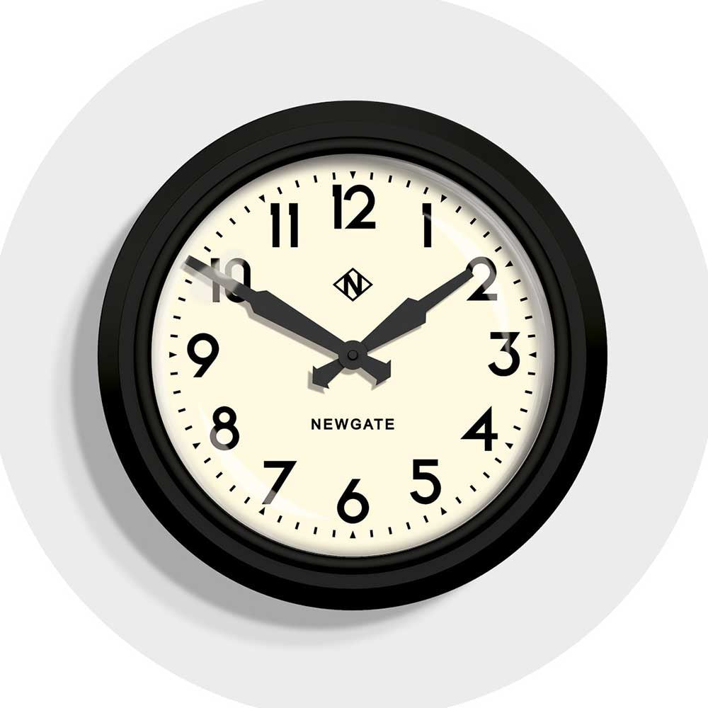 Newgate Retro Factory Wall Clock