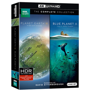 Planet Earth II and Blue Planet II: The Collection (UHD)