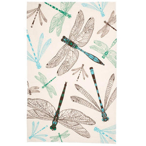 Scottish Dragonfly Tea Towel