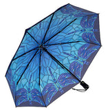 Stained Glass Dragonfly Umbrella: Folding