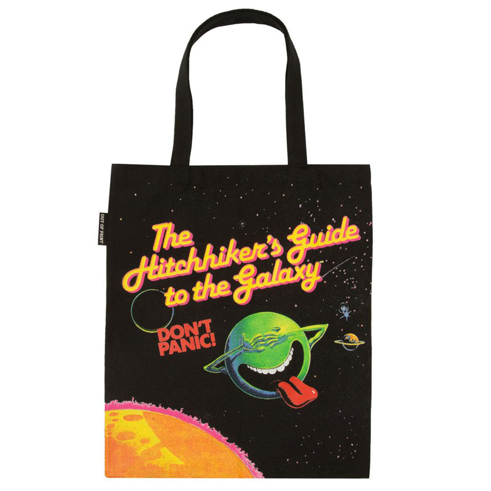 The Hitchhiker's Guide to the Galaxy Tote Bag