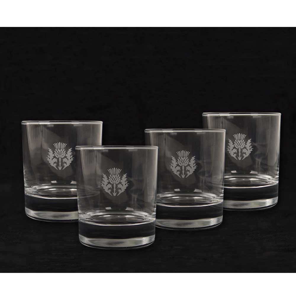 Thistle Whisky Tumblers