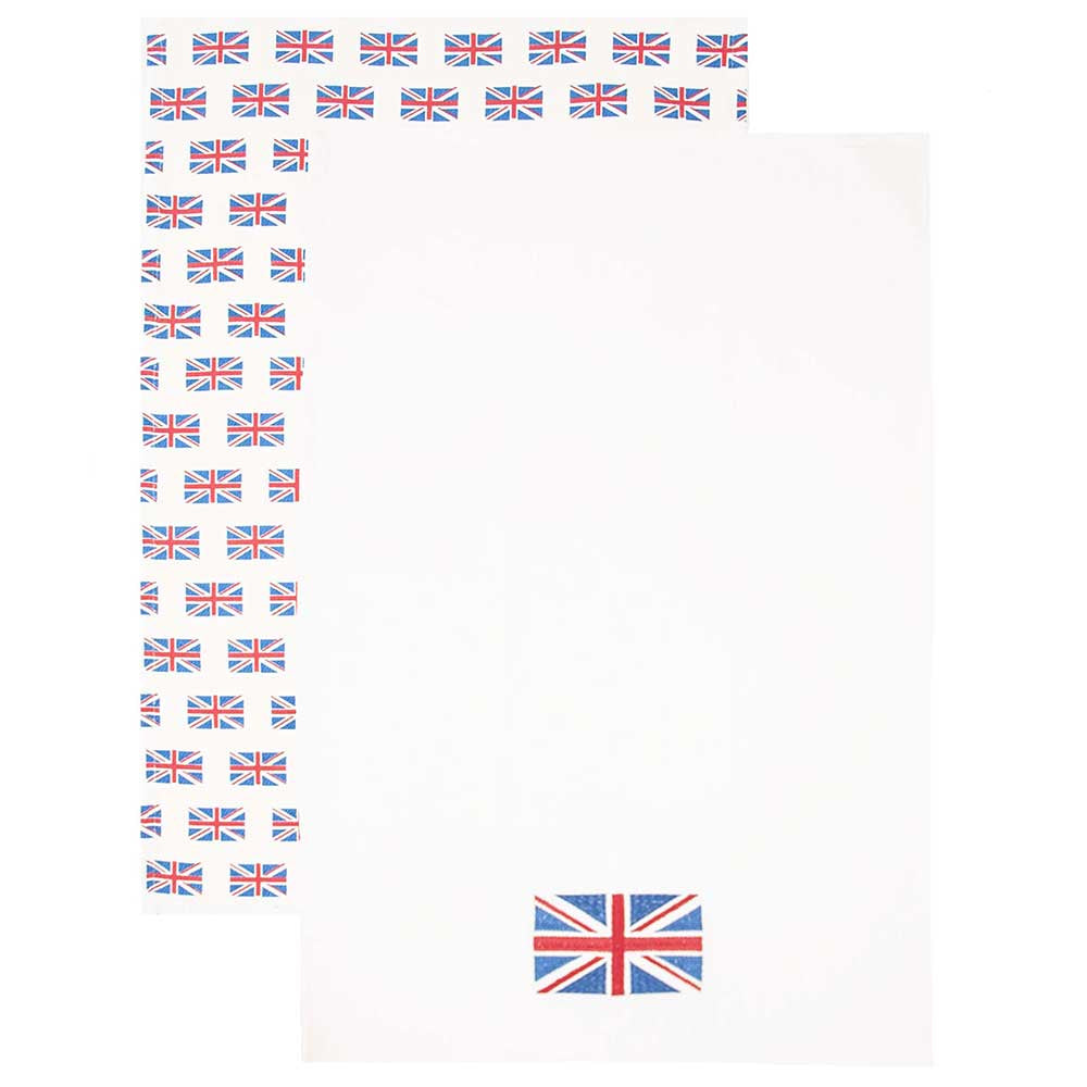 Union Jack Tea Towel Set