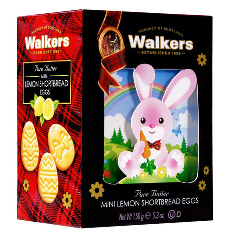 Walkers Easter Bunny Mini Lemon Shortbread Eggs