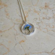 Load image into Gallery viewer, Forget Me Not Bouquet Necklace (Small)