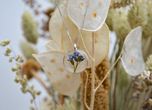 Forget Me Not Necklace (small)