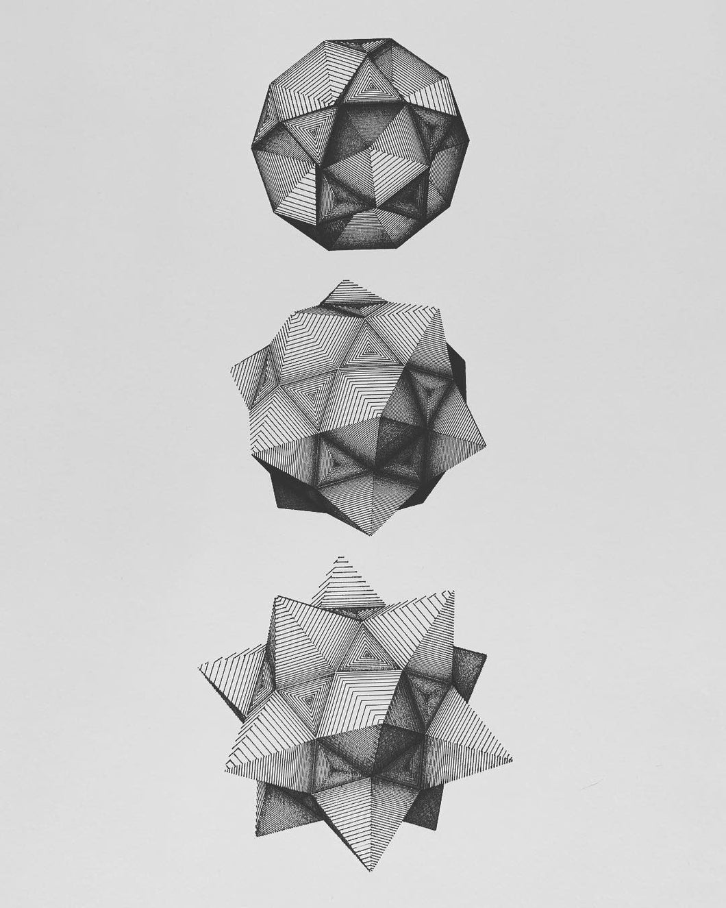 Three Polyhedra