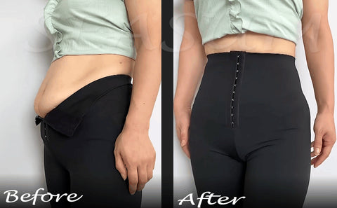 high waisted leggings with tummy control