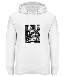 Death and Passions (Black detail) Ladies / Unisex Hoodie