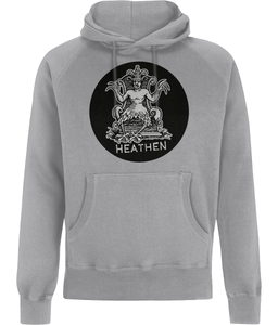 Demon of Heresy (Grey Detail) Mens Hoodie