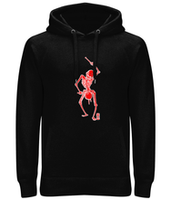 Load image into Gallery viewer, Dance with Death (Red Skeleton) Ladies / Unisex Hoodie