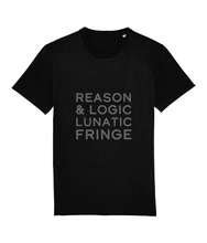 Load image into Gallery viewer, Reason & Logic Lunatic Fringe Unisex T-Shirt