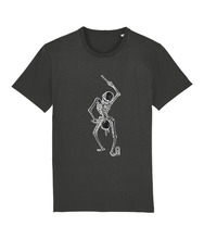 Load image into Gallery viewer, Dance with Death (Black Skeleton) Unisex T-Shirt