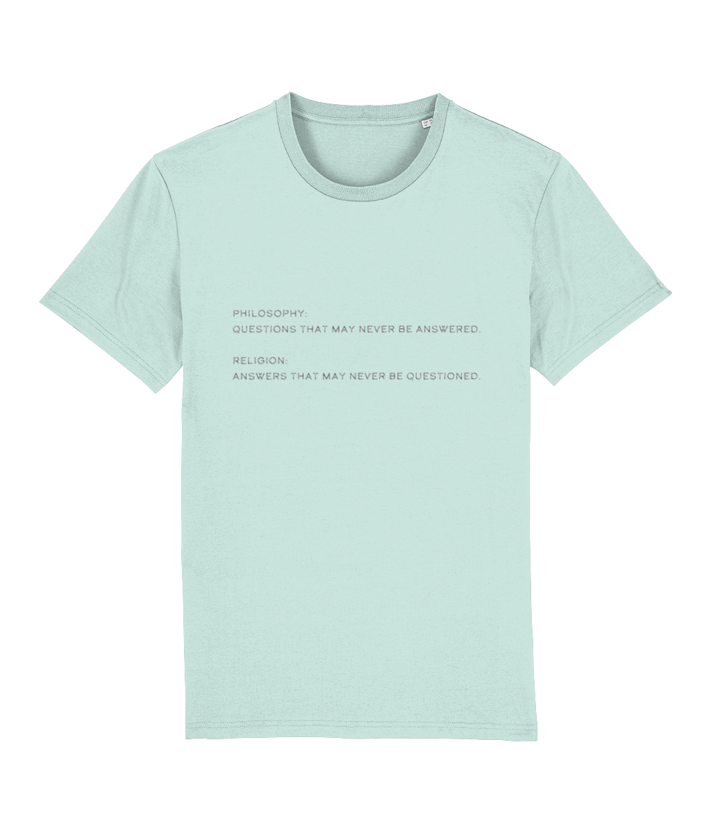Philosophy v Religion Unisex T-Shirt