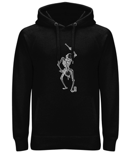 Dance with Death (Black Skeleton) Ladies / Unisex Hoodie