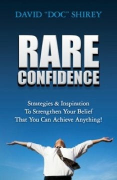 RARE CONFIDENCE started as a mindset, came to life in the book, and became the inspiration for the brand!