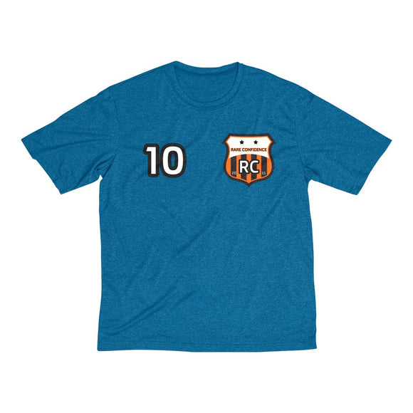 BRAND NEW! RC Futbol Crest Heather Dri-Fit Tee (12 Colors)