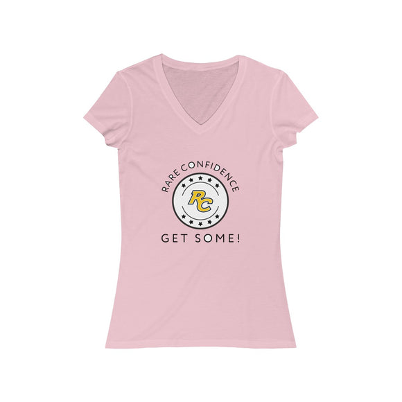 Original Logo Women's V-Neck Tee (4 Colors)