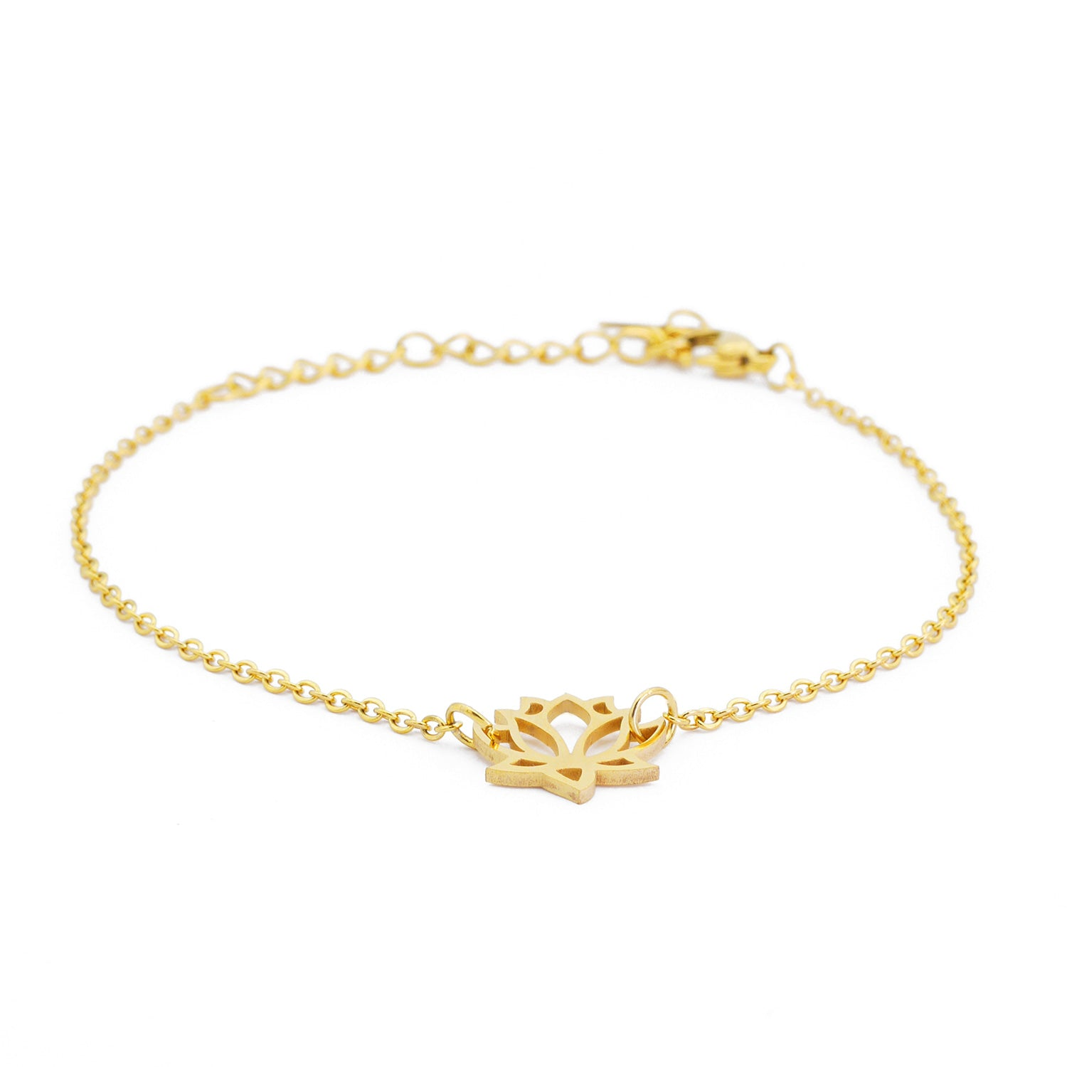 Lotus Armband Gold (vergoldet)