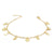Mondphasen Armband Gold