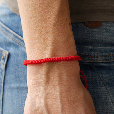 Tibetisches Armband rot