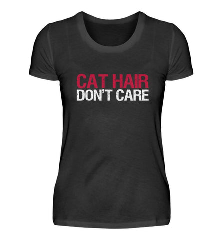 Damen Premium Shirt - Cat Hair Don't Care  - Damen Premiumshirt