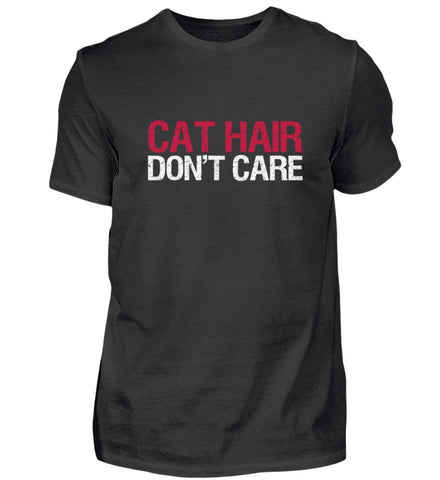 Herren Premium Shirt - Cat Hair Don't Care  - Herren Premiumshirt