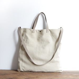 Casual Canvas Tote Bag