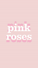 Load image into Gallery viewer, pink roses wallpapers