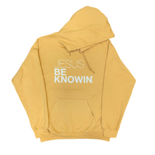 Load image into Gallery viewer, Jesus Be Knowin' | Toffee + White Hoodie