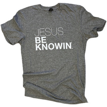 Load image into Gallery viewer, Jesus Be Knowin' | Heather Grey + White