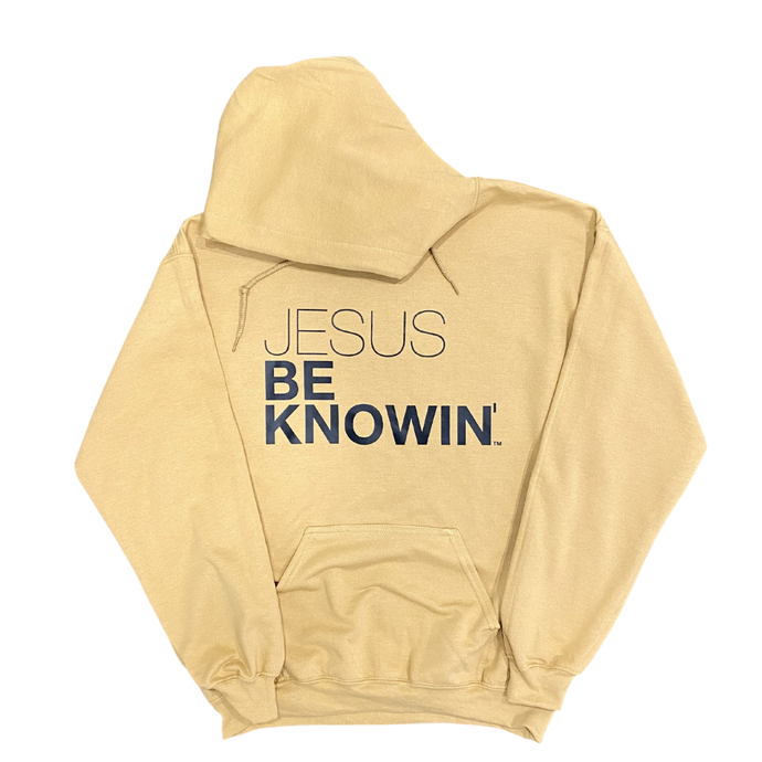 Jesus Be Knowin' | Toffee + Black Hoodie