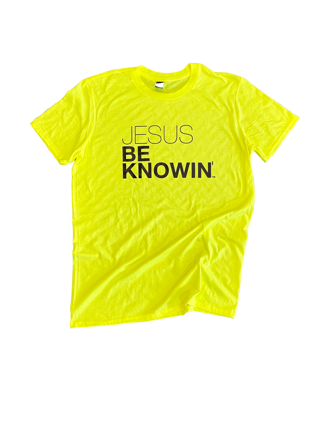 Jesus Be Knowin' | Neon Tee