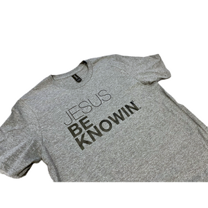 Jesus Be Knowin' | Heather Grey + Black