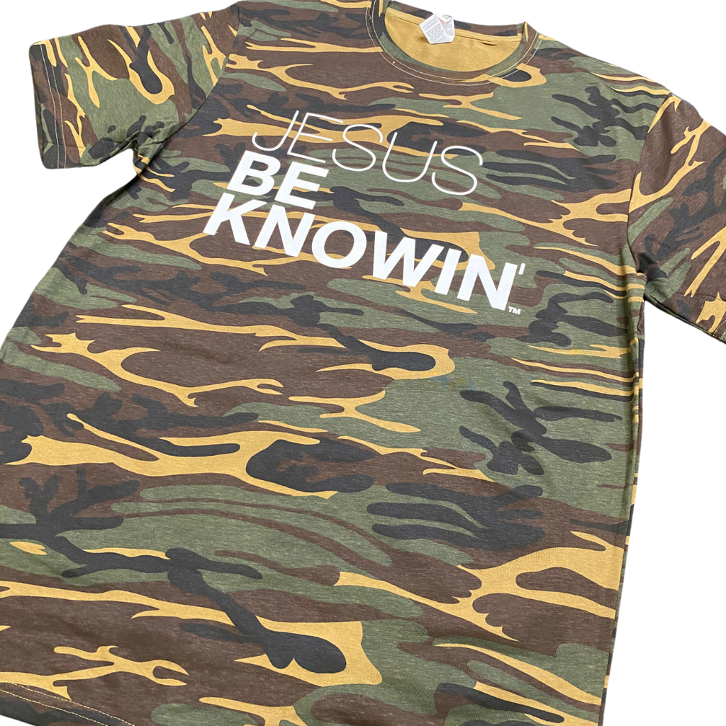 Jesus Be Knowin' | Camo Tee [Various Colors]