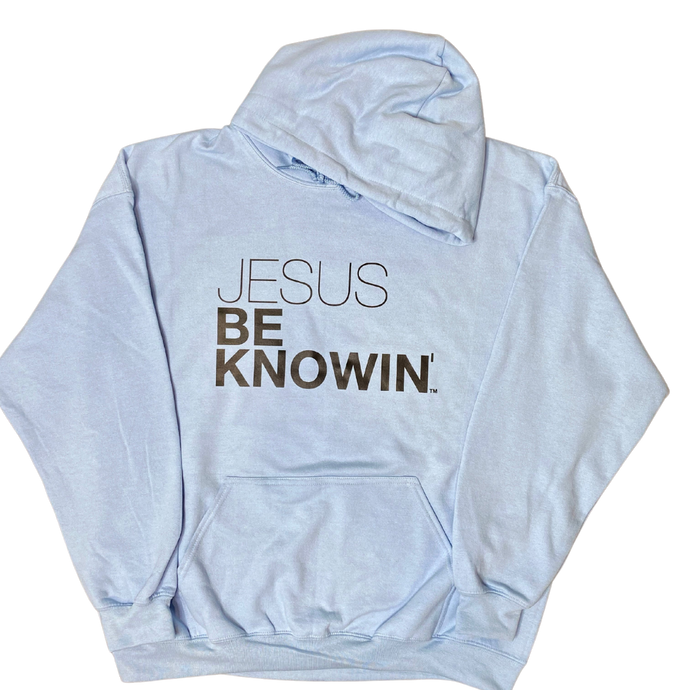 Jesus Be Knowin' | Sky Blue Hoodie [Various Colors]