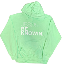 Load image into Gallery viewer, Jesus Be Knowin' | Mint Green Hoodie [Various Colors]