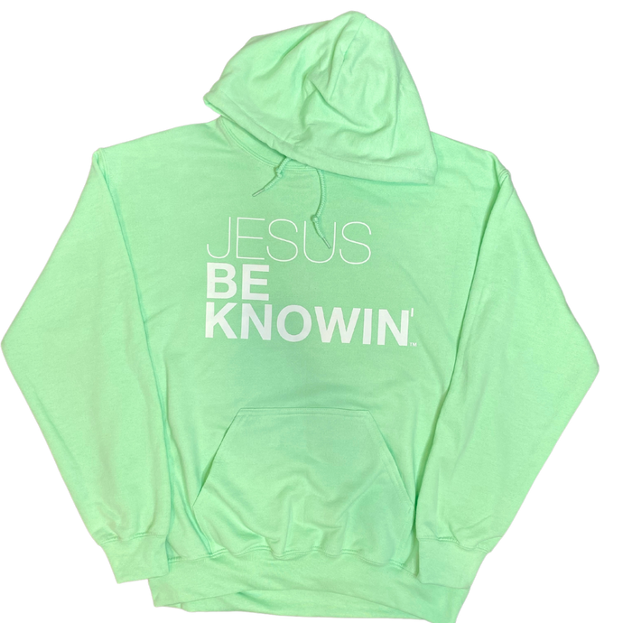 Jesus Be Knowin' | Mint Green Hoodie [Various Colors]