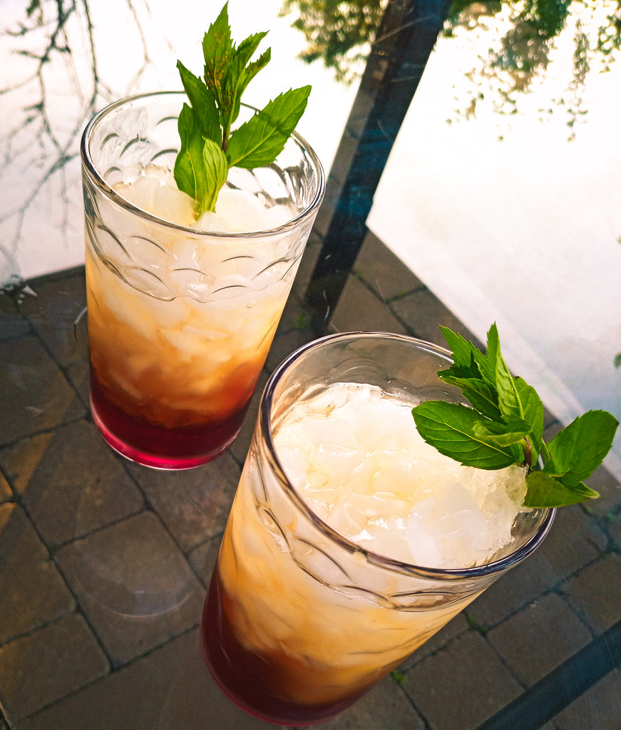 COFFEE CHERRY SPRITZER