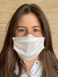 2 layer mask white Certificada - Pack 5 unidades