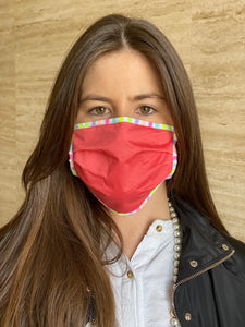 Pleated mask Multicolor - Pack 5 unidades
