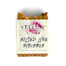 Load image into Gallery viewer, SALTED LIME HIBISCUS SOAP - Bee Our Guest