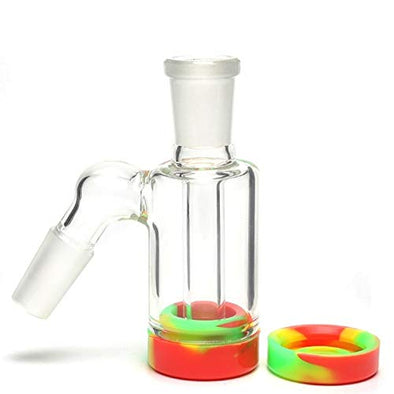 Mother Ship-Glass Straight Thick Glass Smokeless Water Pipe Collectibles Tall 10 Inch
