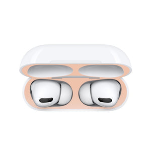 Metal Dustproof Sticker for Airpods 1/2/Pro Case Cover Accessories Ultra-Thin Protective Wrap Sticker Skin Self-Adhesive Film