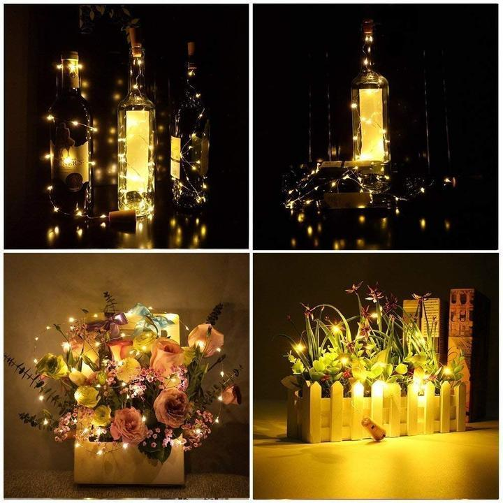 BOTTLE LIGHTS -Suitable For All Kinds of Festivals and Scenes