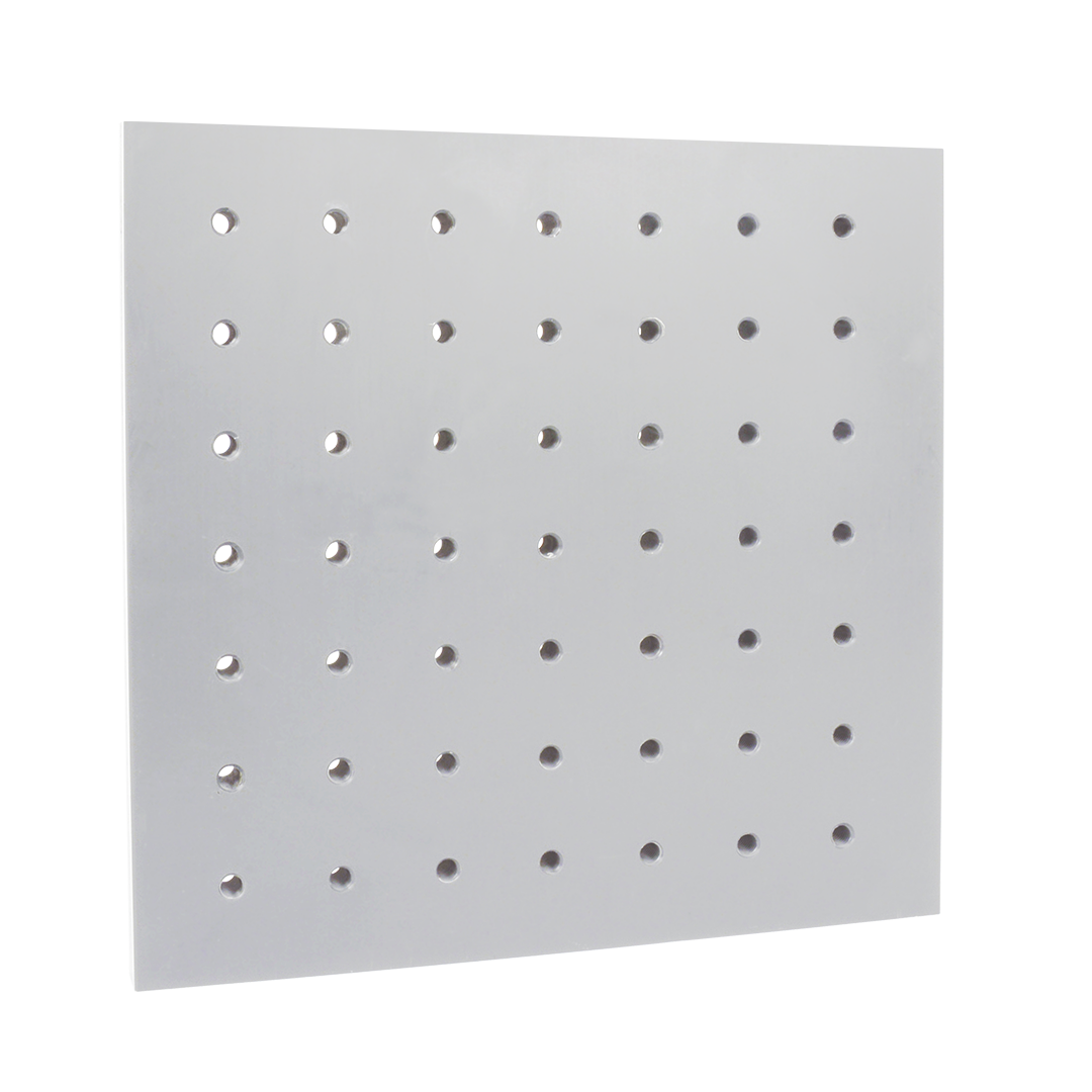 PTFE plate with precise perforations