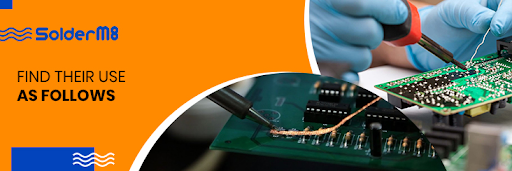 The areas of application of soldering iron