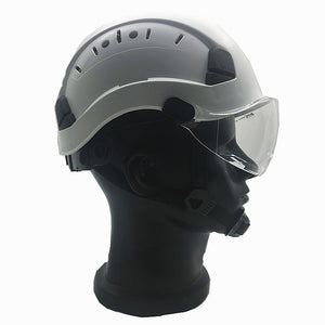 PPE Safety Helmet with built in safety goggles